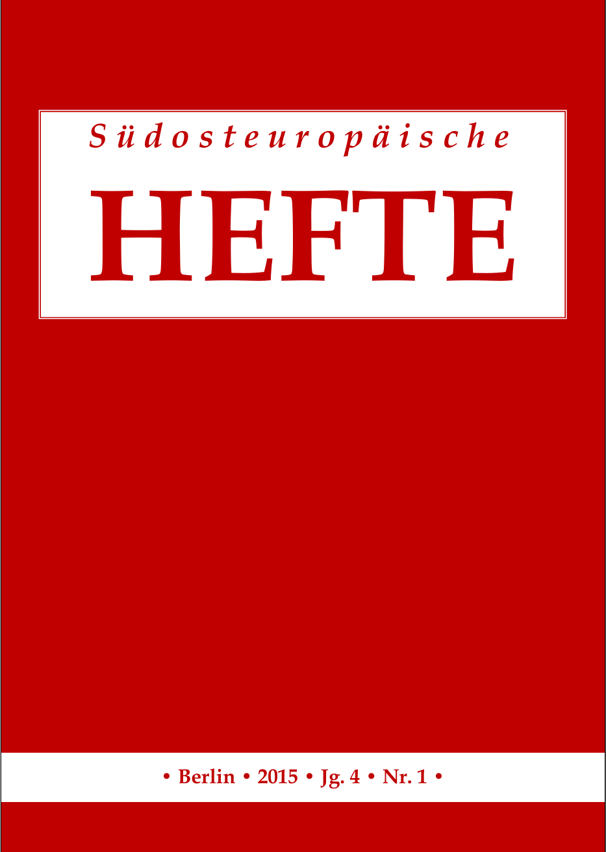 Sudosteuropaische Hefte 2015 4 1